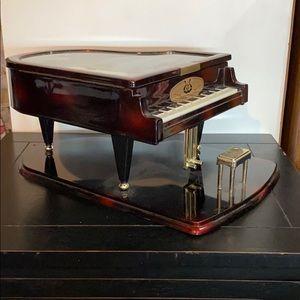 Grand Piano Music Box EUC